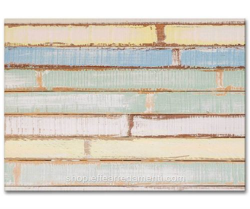 Mensole In Legno Colorate.Ciukyplan Pannello Magnetico Colore Tavole Legno Colorate